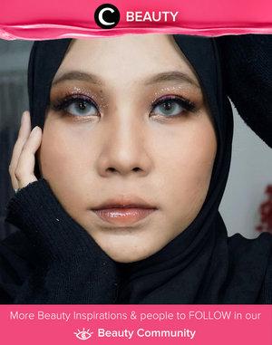 Maximum eye makeup, almost bare lip makeup. Who's with Clozetter @oktaritami? Simak Beauty Update ala clozetters lainnya hari ini di Beauty Community. Yuk, share produk favorit dan makeup look kamu bersama Clozette.