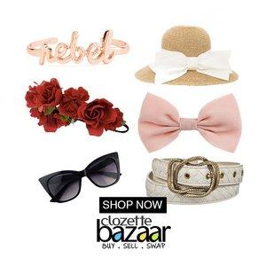Accessories are like vitamins to fashion.  Then go buy those vitamins at #ClozetteBazaar ;) http://bit.ly/bzracc  #accessories #jualan #olshop #olshopjkt #olshopjakarta #onlineshop #onlineshopjkt #bazaar #bazaarjkt #clozetteid #clozettebazaar #marketplace #marketplaceid #marketplacejkt #fashion #fashionfriday