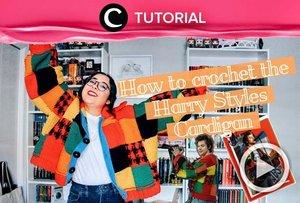 Cardigan penuh warna yang terinspirasi dari koleksi Harry Styles ini sedang in, lho! Coba intip cara membuatnya yuk: https://bit.ly/2VIDJ0j. Video ini di-share kembali oleh Clozetter @ranialda. Lihat juga tutorial lainnya di Tutorial Section.