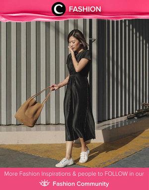 Clozette Ambassador @janejaneveroo looks stunning in black dress. Simak Fashion Update ala clozetters lainnya hari ini di Fashion Community. Yuk, share outfit favorit kamu bersama Clozette.