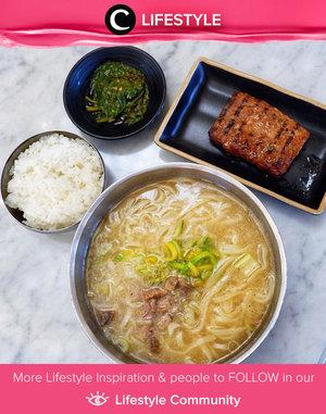 Yumm! Makanan asli Korea selalu menggugah selera ya, Clozetters. Apalagi bagi kamu para penggemar Kdrama dan Kpop! Simak Lifestyle Updates ala clozetters lainnya hari ini di Lifestyle Community. Image shared by Clozetter @Dheasuryawan. Yuk, share juga makanan favoritmu.