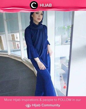 Clozetter @Lylasabine looked stunning in all blue. Simak inspirasi gaya Hijab dari para Clozetters hari ini di Hijab Community. Yuk, share juga gaya hijab andalan kamu.