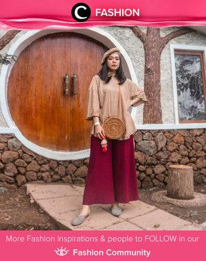 When in doubt, wear earthy-tones. Simak Fashion Update ala clozetters lainnya hari ini di Fashion Community. Image shared by Clozetter @megayunita. Yuk, share outfit favorit kamu bersama Clozette.