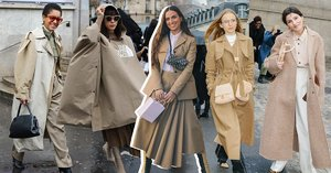 Why the Streets of Paris Ran Beige This Season