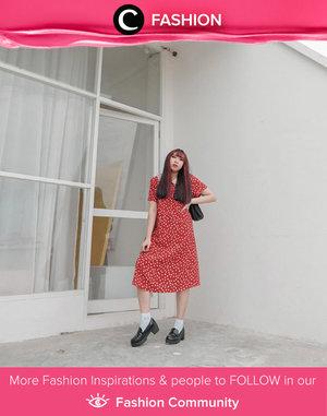 Love this dress + loafer styling ala Clozetter @yunitaelisabeth91. Simak Fashion Update ala clozetters lainnya hari ini di Fashion Community. Yuk, share outfit favorit kamu bersama Clozette.