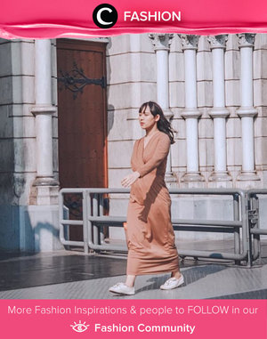 Get yourself something simple but sweet to bring your feminine side out. Image shared by Clozette Crew @puitika. Simak Fashion Update ala clozetters lainnya hari ini di Fashion Community. Yuk, share outfit favorit kamu bersama Clozette.
