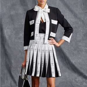 Another quirky collection from @moschino. Salah satu koleksi Resort 2016-nya ini didekasikan untuk para shopaholic dengan aksen 'receipt pattern' di beberapa bagian. Yuk temukan juga tren street & runway fashion lainnya dari Clozetters di komunitas www.clozette.co.id. See you there!  #ClozetteID #fashion #outfitinspiration #instafashion #clothes #instalook #outfit #ootd #portrait #clothing #style #look #lookbook #lookoftheday #outfitoftheday #ootd #stylish #instaoutfit #fashionjunkie #accessories #dainty #edgystyle