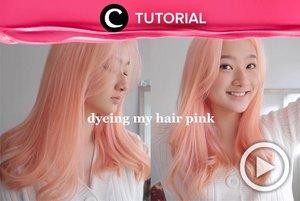 Ingin mewarnai rambutmu dengan warna pastel seperti ini? Intip dulu tutorialnya di: http://bit.ly/38datC3. Video ini di-share kembali oleh Clozetter @kamiliasari. Lihat juga tutorial lainnya di Tutorial Section.