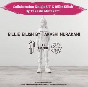 "Setelah mengarahkan video musik @billieeilish yang berjudul ""you should see me in a crown"", Takashi Murakami kembali bekerja sama dengan Billie dalam kolaborasi limited edition T-shirt untuk @uniqlo.ut! Walaupun belum resmi diumumkan tanggal rilisnya, namun sudah dipastikan koleksi ini akan masuk ke Indonesia. Penasaran banget sama koleksinya, can't wait! 📷 @takashipom #ClozetteID #ClozetteIDCoolJapan #ClozetteXCoolJapan"