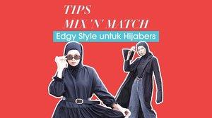 Siapa yang udah kangen liat tips fashion hijab dari @astrityas? Kali ini ada 3 cara padu padan gaya edgy yang bisa kamu contek! Cek video terbaru di YouTube Clozette, yuk http://bit.ly/HijabEdgy (link di bio).Psst, jangan lupa ikutan giveaway dengan hadiah menarik senilai 200.000 rupiah untuk masing-masing 5 orang pemenang! Cek info giveaway di description box video YouTube ya..#ClozetteID #CIDYouTube #Giveaway #fashion #hijab