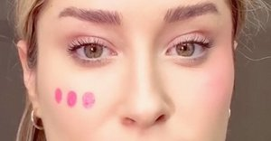 This viral blush application hack will totally change the shape of your face