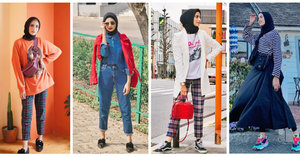 Inspirasi Gaya Kasual untuk Hijabers a la Selebgram Munira Agile