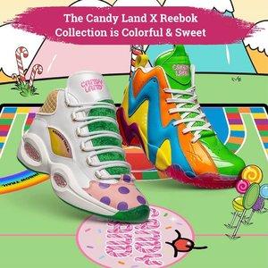 Colorful sneakers is here! Kolaborasi Reebok dengan beloved board The Candy Land meluncurkan koleksi warna-warni yang memiliki empat desain unik termasuk sweet takes on the Question Mid, Kamikaze II, Classic Leather, dan Club C 85. Koleksi ini akan rilis pada 21 April pada website Reebok. Tertarik untuk memilikinya, Clozetters?😉  📷@hypebeast  #ClozetteID #Sneakers