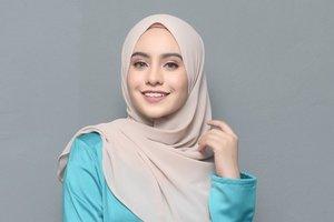 Tren Hijab Segi Empat, Lebih Lebar dan Syar