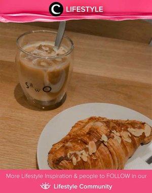 Croissant and coffee for evening snack, anyone can resist? Image shared by Clozette Ambassador @NabilaaZ. Simak Lifestyle Update ala clozetters lainnya hari ini di Lifestyle Community. Yuk, share momen favoritmu bersama Clozette.