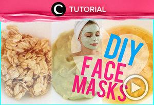 Ingin membuat masker alami yang aman untuk kulitmu? Yuk, simak video beriku http://bit.ly/2kleqyn. Video ini di-share kembali oleh Clozetter: @salsawibowo. Cek Tutorial Updates lainnya pada Tutorial Section.