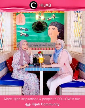 Bali mood ala Clozette Ambassador @sunsetdazesha and friend: long dress and comfortable top and bottom. Simak inspirasi gaya Hijab dari para Clozetters hari ini di Hijab Community. Yuk, share juga gaya hijab andalan kamu.
