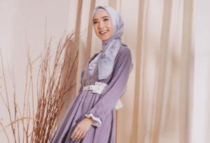 Warna Hijab yang Cocok untuk Baju Ungu Lilac