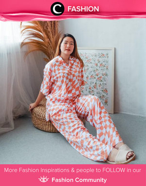 Everything is better in pajamas! Image shared by Clozette Ambassador @reginabundiarti. Simak Fashion Update ala clozetters lainnya hari ini di Fashion Community. Yuk, share outfit favorit kamu bersama Clozette.