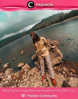Lakeside visit in style, only Clozette Ambassador @wulanwu! Simak Fashion Update ala clozetters lainnya hari ini di Fashion Community. Yuk, share outfit favorit kamu bersama Clozette.