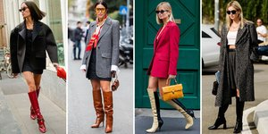 All the Knee High Boots Looks Inspiration You'll Ever Need