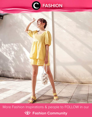 Be the brightest sun, even when you stay at home! Image shared by Clozette Ambassador @steviiewong. Simak Fashion Update ala clozetters lainnya hari ini di Fashion Community. Yuk, share outfit favorit kamu bersama Clozette.