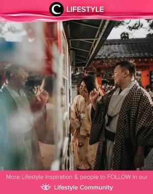 Clozette Ambassador @natahsu shared her happy Kyoto moment. Hope we can travel abroad again next year. Finger crossed! Simak Lifestyle Update ala clozetters lainnya hari ini di Lifestyle Community. Yuk, share momen favoritmu bersama Clozette.