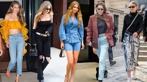 Happy Birthday, Gigi! Exploring the Model's Mastery of Denim