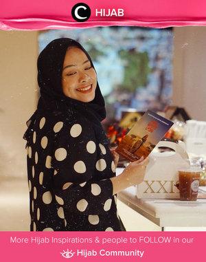 Polka dots, bright smile & happy heart! Simak inspirasi gaya Hijab dari para Clozetters hari ini di Hijab Community. Image shared by Star Clozetter @fazkyazalicka. Yuk, share juga gaya hijab andalan kamu.