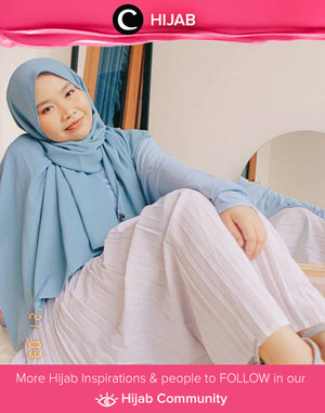 May your weekend be as bright as Clozetter @safiranys' outfit! Simak inspirasi gaya Hijab dari para Clozetters hari ini di Hijab Community. Yuk, share juga gaya hijab andalan kamu.