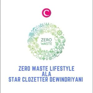 Terinspirasi dari akun @zerowaste.id_official, Star Clozetter Dewindriyani memulai tantangan #zerowaste31days di awal tahun 2019. Agar lebih ramah lingkungan, ia bahkan mengganti skincare-nya dengan bahan-bahan alami, lho, Clozetters. Tertarik belajar mencintai lingkungan seperti Clozetter yang satu ini? #ClozetteID