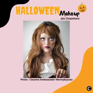 "Di Amerika, biasanya perayaan halloween dilakukan anak-anak dengan memakai kostum seram, dan berkeliling dari pintu ke pintu rumah tetangga sambil meminta permen atau cokelat. Mereka berkata ""trick or treat!"" Ucapan tersebut adalah semacam ""ancaman"" yang berarti ""beri kami (permen) atau kami jahili.""  Menurut catatan sejarah, sebenarnya tidak ada penjelasan tentang kapan tepatnya hari Halloween ini mulai diselenggarakan, tapi kini dilakukan setiap malam tanggal 31 Oktober. Bagi mereka yang merayakan, pada malam itu mereka akan menggunakan busana dan makeup yang berkarakter hingga seram👻 Ada beberapa Clozetters yang membuat makeup ala Halloween ini, lho! Penasaran seperti apa? Yuk, simak videonya✨  📷@wennykyuuto @flovivi @tyas8818 @anitamayaa @auzola  #ClozetteID #ClozetteIDVideo #Halloween #HalloweenMakeup"