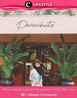 Berencana liburan ke Bali? Jangan lupa mampir ke Parachute di Kuta ya. Restoran yang Instagrammable ini menyuguhkan pemandangan sawah yang tenang dan cantik! Simak Lifestyle Updates ala clozetters lainnya hari ini di Lifestyle Section. Image shared by Star Clozetter @Fazkyazalicka. Yuk, share momen favorit kamu bersama Clozette.