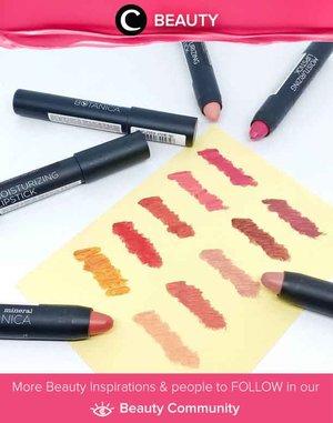 Mineral Botanica Moisturizing Lipstick Swatches by Clozetter @momonind. Which color is your favorite? Simak Beauty Update ala clozetters lainnya hari ini di Beauty Community. Yuk, share juga beauty product favoritmu bersama Clozette.
