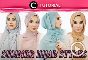 12 gaya hijab musim panas ini bisa membuatmu selalu tampil stylish dan berbeda setiap hari. Intip tutorialnya di sini http://bit.ly/2O260WJ. Video ini di-share kembali oleh Clozetter: @chocolatelove. Cek Tutorial Updates lainnya pada Tutorial Section.