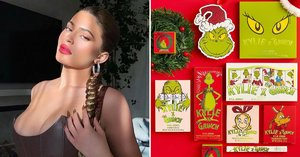 Kylie Cosmetics Is Stealing Christmas With This New Grinch Holiday Collection