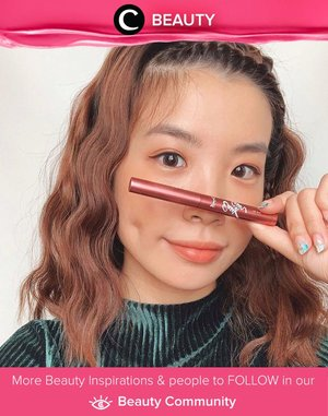 Clozette Ambassador @steviiewong and Jacquelle x Astariri Coco Lip Star for her cheek, eyes, and lips. Simak Beauty Update ala clozetters lainnya hari ini di Beauty Community. Yuk, share juga beauty product favoritmu bersama Clozette.
