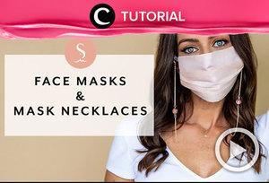 Wear a mask in a more stylish way. Check the tips here: https://bit.ly/3cQNVsb. Video ini di-share kembali oleh Clozetter @ranialda. Lihat juga tutorial dan tips lainnya di Tutorial Section.