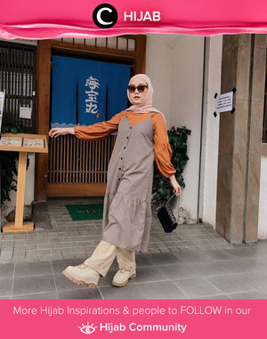 Strolling around Little Tokyo Jakarta with style. Image shared by Clozetter @nabilaaz. Simak inspirasi gaya Hijab dari para Clozetters hari ini di Hijab Community. Yuk, share juga gaya hijab andalan kamu.