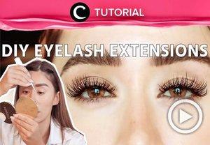 Affordable and easy, try this DIY eyelash extensions at home: https://bit.ly/3ljbq1y. Video ini di-share kembali oleh Clozetter @kyriaa. Lihat juga tutorial lainnya di Tutorial Section.