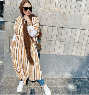 Cute hijab outfits for summer vacations     Just Trendy Girls