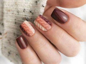 Matte Textured Nail Art Inspiration for 2021