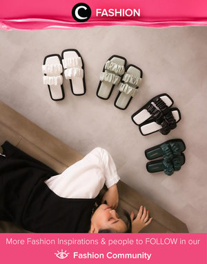 Clozette Ambassador @katherin merilis brand footwear Kapsoora. Ini dia salah satu koleksinya yang berwarna netral dengan desain menggemaskan! Simak Fashion Update ala clozetters lainnya hari ini di Fashion Community. Yuk, share outfit favorit kamu bersama Clozette.