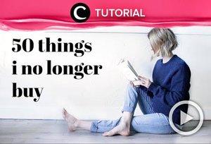 Ingin belajar gaya hidup yang lebih minimalis? Coba cek video yang di-share kembali oleh Clozetter @juliahadi ini: http://bit.ly/35tEpaj. Lihat juga tutorial updates lainnya di Tutorial Section!