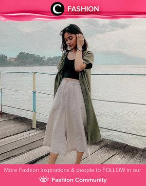 Tampil santai di pantai? Kamu bisa tiru gaya Clozette Ambassador @sucifitriaapriani berikut! Simak Fashion Update ala clozetters lainnya hari ini di Fashion Community. Yuk, share outfit favorit kamu bersama Clozette.