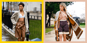 This Long-Shorts Trend Is Like if Bermudas and Culottes Had a BB