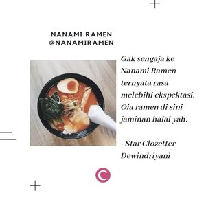 Happy holiday! Masih bingung siang nanti mau makan apa? Rekomendasi 5 ramen favorit di Jakarta dari Clozetters ini bisa kamu coba. Psst, ada yang halal juga, lho. . #ClozetteID #clozetteidvideo