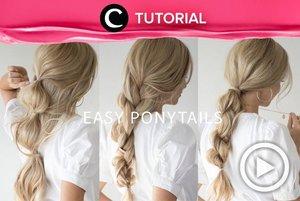 This braided ponytail is perfect for your everyday hairstyle: http://bit.ly/2KrMpzD. Video ini di-share kembali oleh Clozetter @saniaalatas. Lihat juga tutorial lainnya di Tutorial Section.