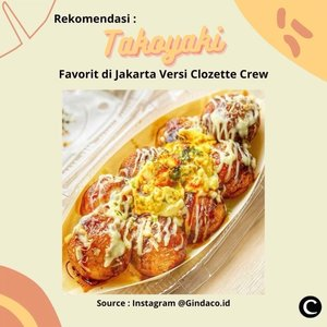Clozetters ada yang suka makan takoyaki? Salah satu cemilan enak yang berasal dari Kansai, Jepang berbentuk bola-bola kecil ini, terbuat dari adonan tepung terigu dengan isian potongan gurita. Saat ini takoyaki bisa dengan mudah kamu dapatkan di Jakarta. Clozette Crew punya rekomendasi takoyaki favorit di Jakarta, nih. Yuk, simak videonya!📷 @gindaco.id @shigerudeli @sushiteiindonesia @takoyakinaruto @okirobox#ClozetteID #ClozetteIDVideo #Clozettexcooljapan #clozetteidcooljapan