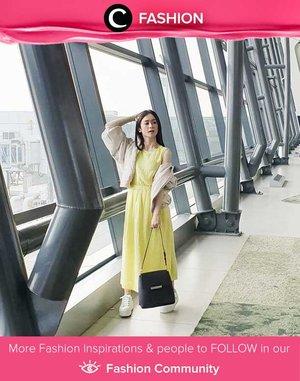 Lime color for a sunny afternoon!  Simak Fashion Update ala clozetters lainnya hari ini di Fashion Community. Image shared by Clozette Ambassador @Silviamuryadi. Yuk, share outfit favorit kamu bersama Clozette.
